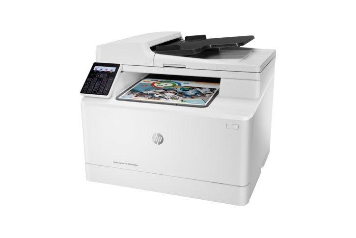 מדפסת (HP Color LaserJet Pro MFP M181fw(T6B71A