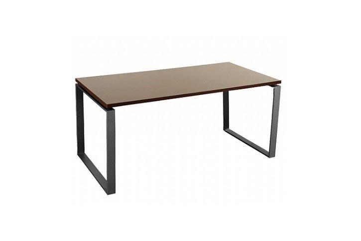שולחן עבודה רגל חלון גודל 140X70 צבע ונגה (חום)