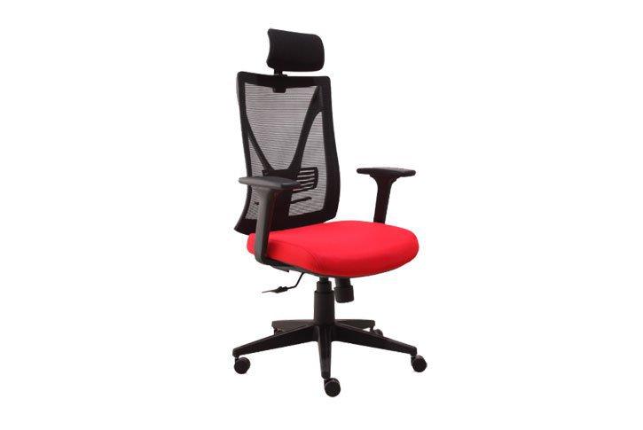 כסא מנהל גב רשת ברוק SK2107