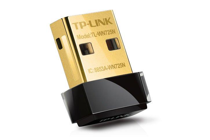 כרטיס אלחוטי עם חיבור USB TP-Link TL-WN725N