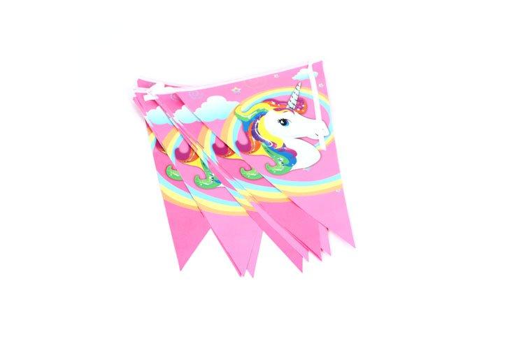 דגלי יום הולדת חד קרן