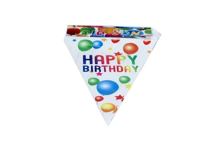 דגלי יום הולדת HAPPY BIRTHDAY