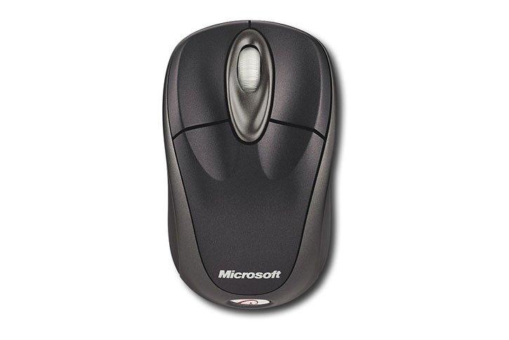 עכבר אופטי אלחוטי Microsoft Wireless Notebk