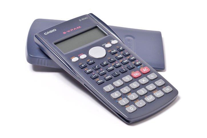 מחשבון מדעי דגם CASIO ,FX-82MS