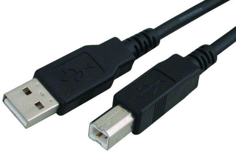 כבל USB A/B M/M-אורך 5 מטר