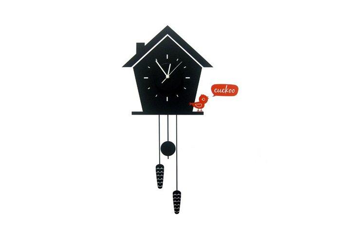 מדבקת קיר - שעון cuckoo clock