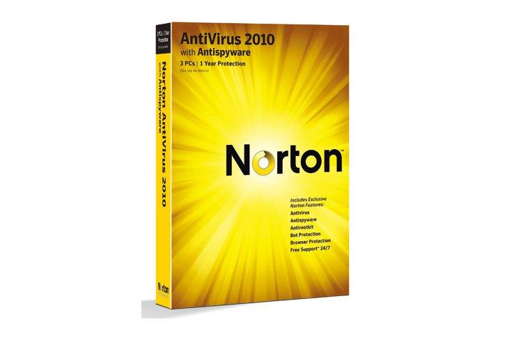 תוכנת אנטי וירוס NORTON ANTIVIRUS 2010 HB OEM