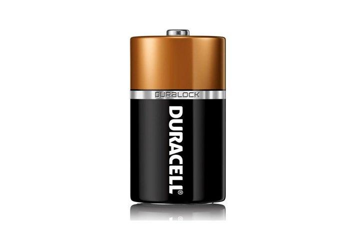 סט 2 סוללות אלקליין DURACELL- גדול D