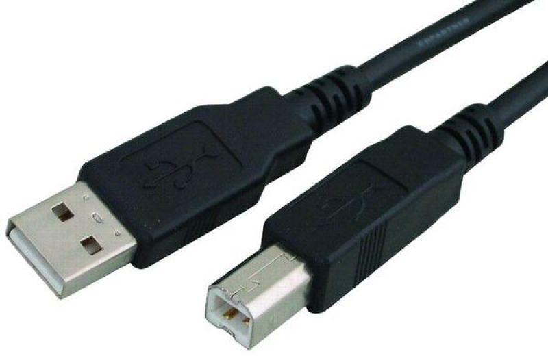 כבל USB A/B M/M-אורך 1.5 מטר