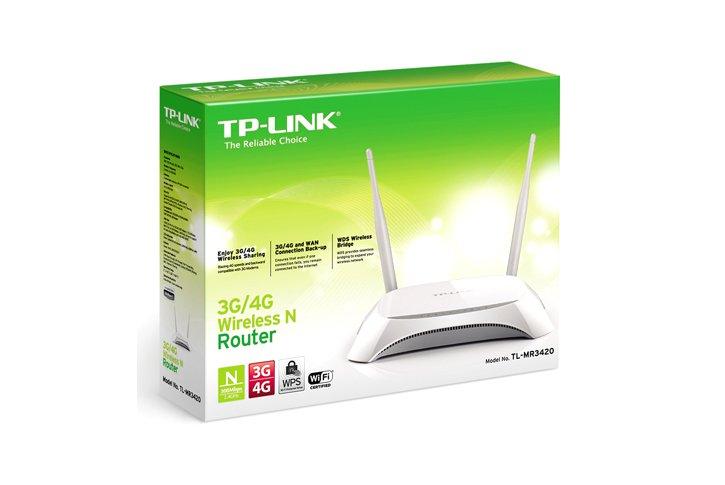 נתב למודם סלולרי TP-LINK 3.75G TL-MR3420