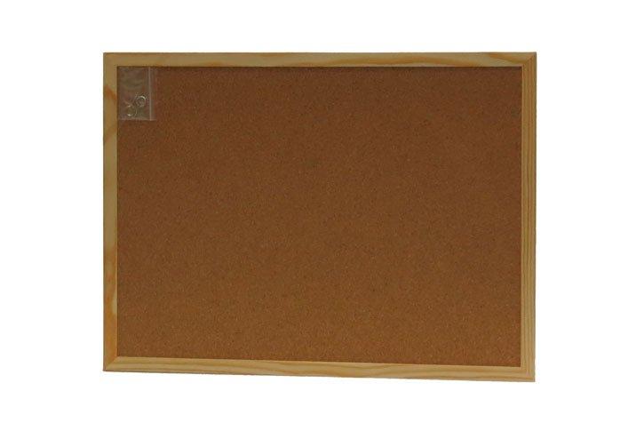 לוח שעם 30x40 מסגרת עץ