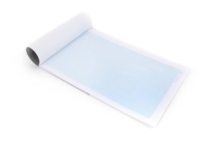 נייר מילימטרי A4 ( בחבילה 200 דף )