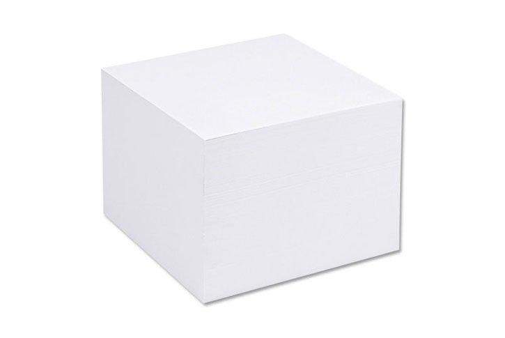 קוביית נייר ממו-לבן/קרם