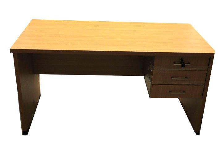 שולחן עבודה מגירות צמודות-סטודנט אורך 120 ס``מ רוחב 60 ס``מ